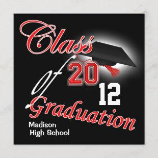 "2012 Graduation ""class of"" template PERSONALIZE"