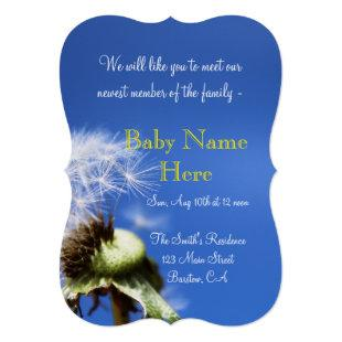 baby infant nursery shower party newborn Modern Invitation