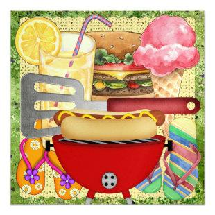 BBQ - End of Year Party! SRF Invitation