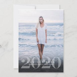 Bold Elegance 2020 Graduation Photo Announcement