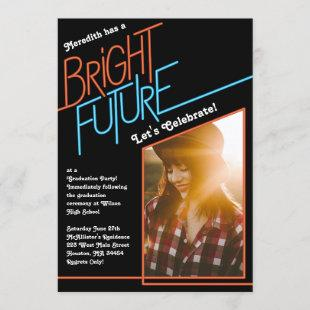 Bright Future Graduation Party Announcement