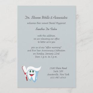 Brush and Tooth Dental Announcement/