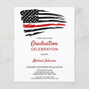 Budget Firefighter Graduation Party