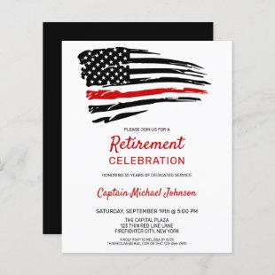 Budget Firefighter Retirement Party