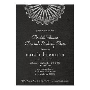Chef Whisk Brunch Cooking Class Invitation