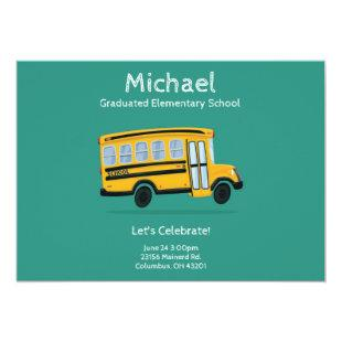 Child's Graduation Party Invitation - Editable