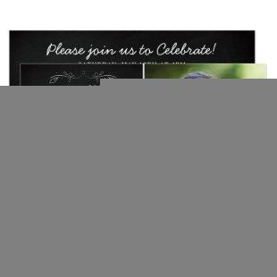 Christian Graduation Bible Verse isaiah 40 Photo Invitation