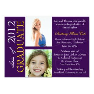 Class of 2012 Graduate Announcement