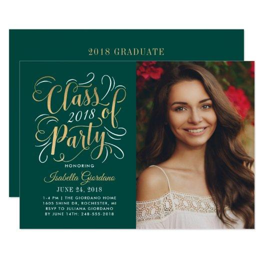 Class of 2018 Photo Party  | Gold