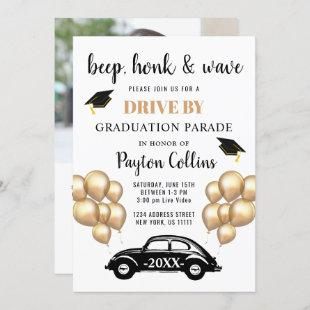 Class of 2020 DRIVE BY PHOTO Graduation Party Invitation