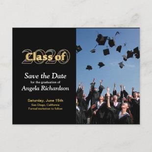 Class of 2020 Save the Date Graduation Photo Invitation Postcard