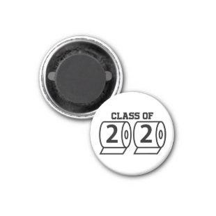 Class of 2020 toilet paper funny graduation gift magnet