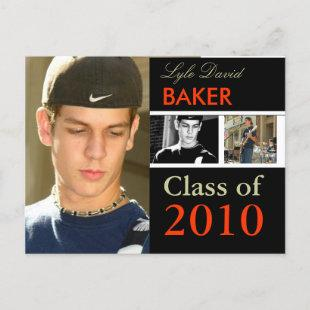 Class of 20xx Graduation Invitation Postcards