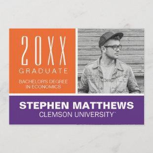 Clemson University Graduation Announcement