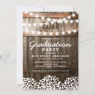 Country Rustic Graduation Party | Class of 2021 Invitation