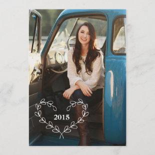 Custom Photo Graduation Announcement