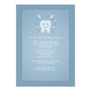 Dental Health Graduation Invitation