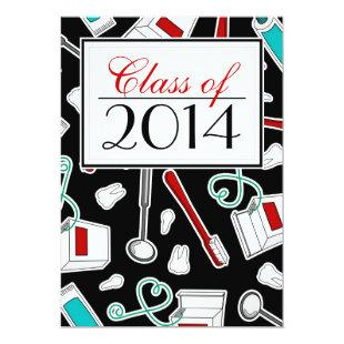 Dental Hygienist / Dental School Graduation Invitation
