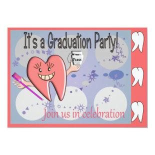 Dental Hygienist Graduation Invitations