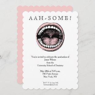 Dental School Graduation Invitation