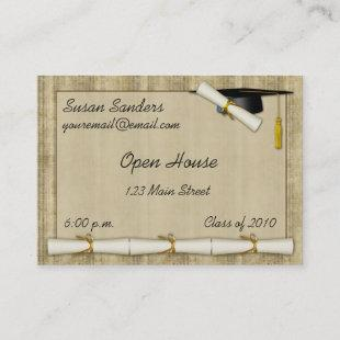Diploma Border Hand-out Calling Card
