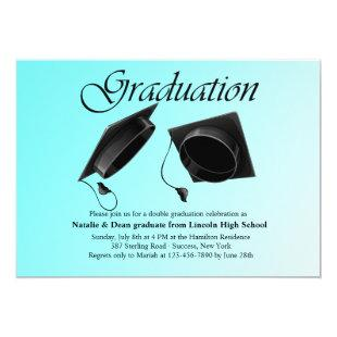 Double Graduation Invitation