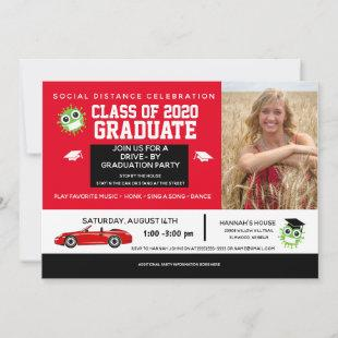 Drive By Parade, 2020 Graduation Party Announcement