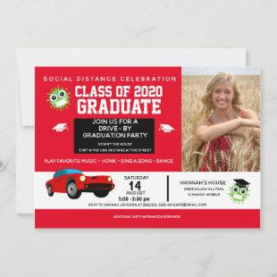 Drive By Party, 2020 Graduation Announcements