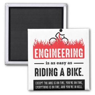 Engineering is Easy as Riding a Bike Magnet