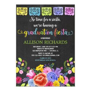 Fiesta graduation party, mexican theme graduation invitation