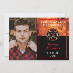 Firefighter Graduation Announcement