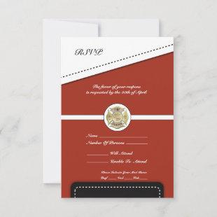 Firefighter Retirement RSVP Card