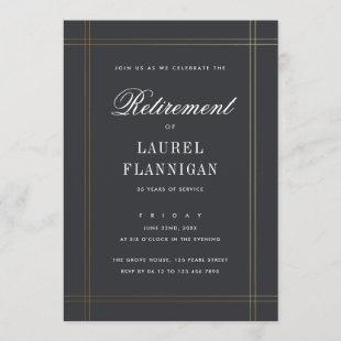 Formal Retirement Party Invitation
