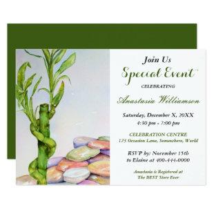 GOOD LUCK RETIREMENT PARTY EVENT INVITE
