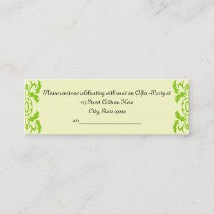 Graduation After Party Invite Profile Cards