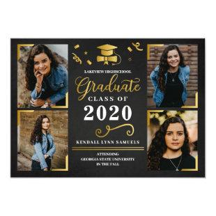 Graduation Announcement Photo Card Invitation