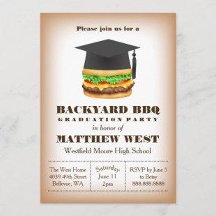 Graduation Backyard Barbecue BBQ Party Cookout