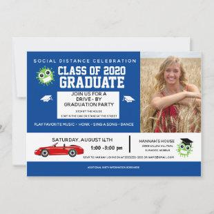 Graduation Drive By Parade, Graduation Party Announcement