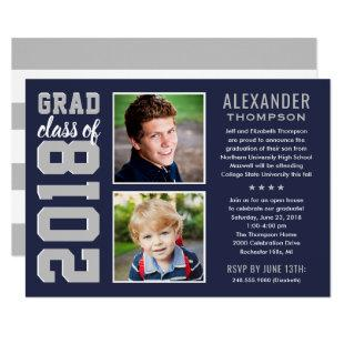 Graduation Party Invitation | Grad Class of 2018