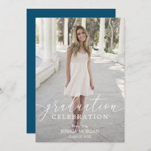 Graduation Party Invitation Script with Photo