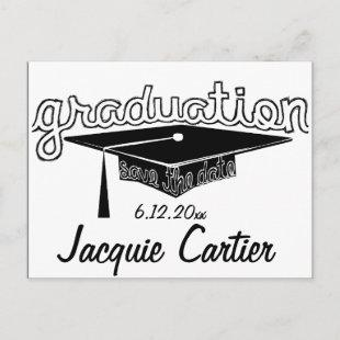 Graduation Save The Date Card