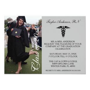 Gray Medical RN School Graduation Announcement