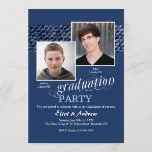 Happy Graduates Photo Invitation