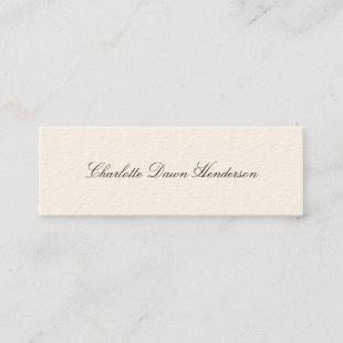 High elegance graduation announcement name card