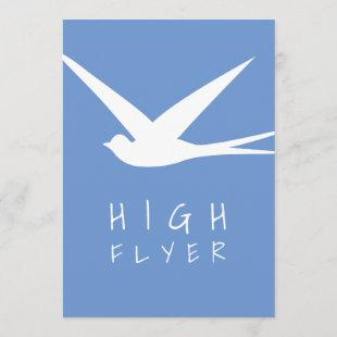High Flyer Job Promotion Celebration Party Invitation