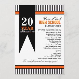 High School Class Reunion Invitation
