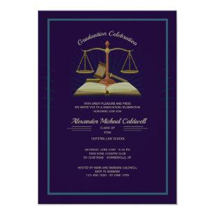 Law Book Invitation