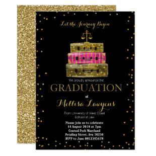 Law Graduation Party Invitations