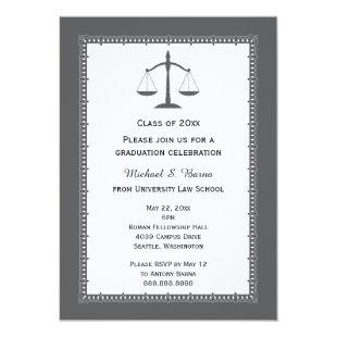Law School Attorney Graduation Announcements