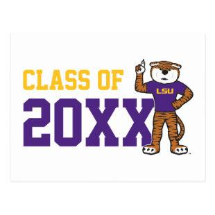 LSU | Mike The Tiger - Class Of Postcard